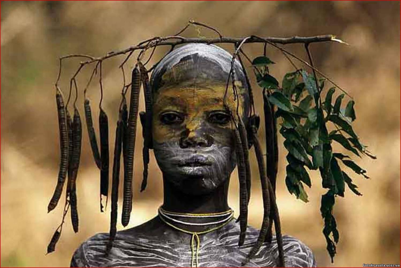 Про племена в африке голые невесты 21 фотография